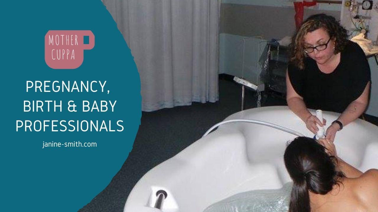 antenatal and postnatal health professionals
