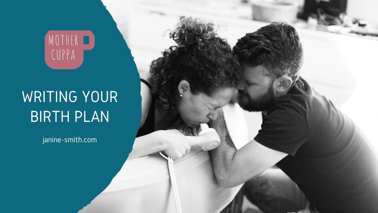 writing your birth plan