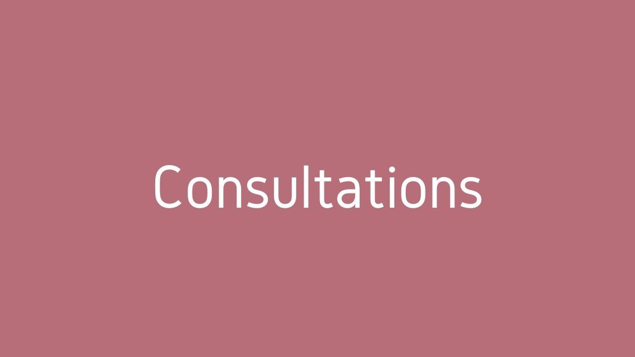 antenatal and postnatal consultations