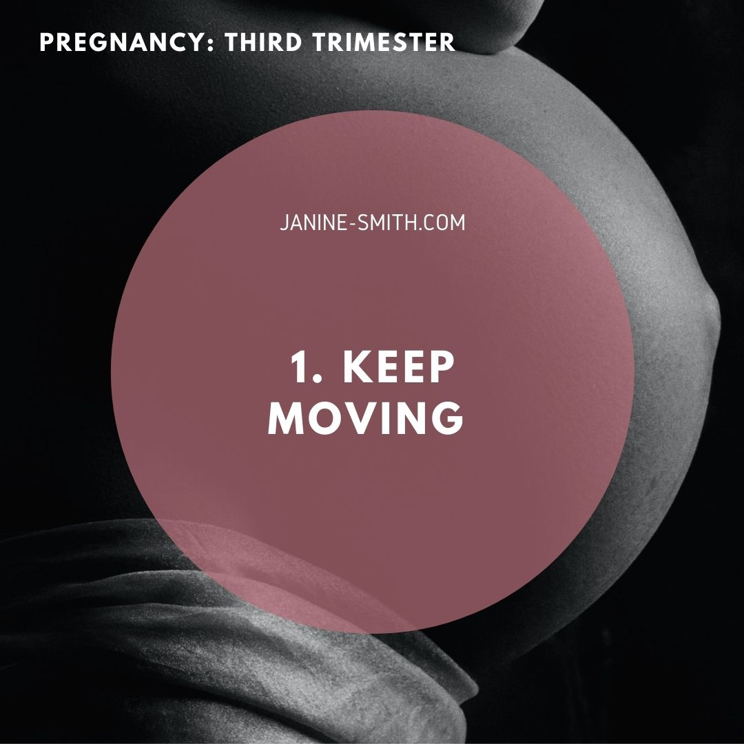 third trimester fitness