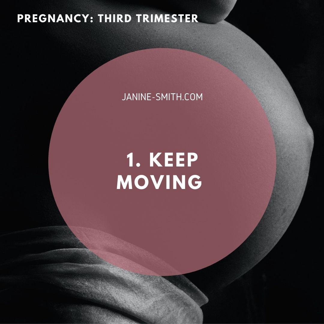 third trimester fitness