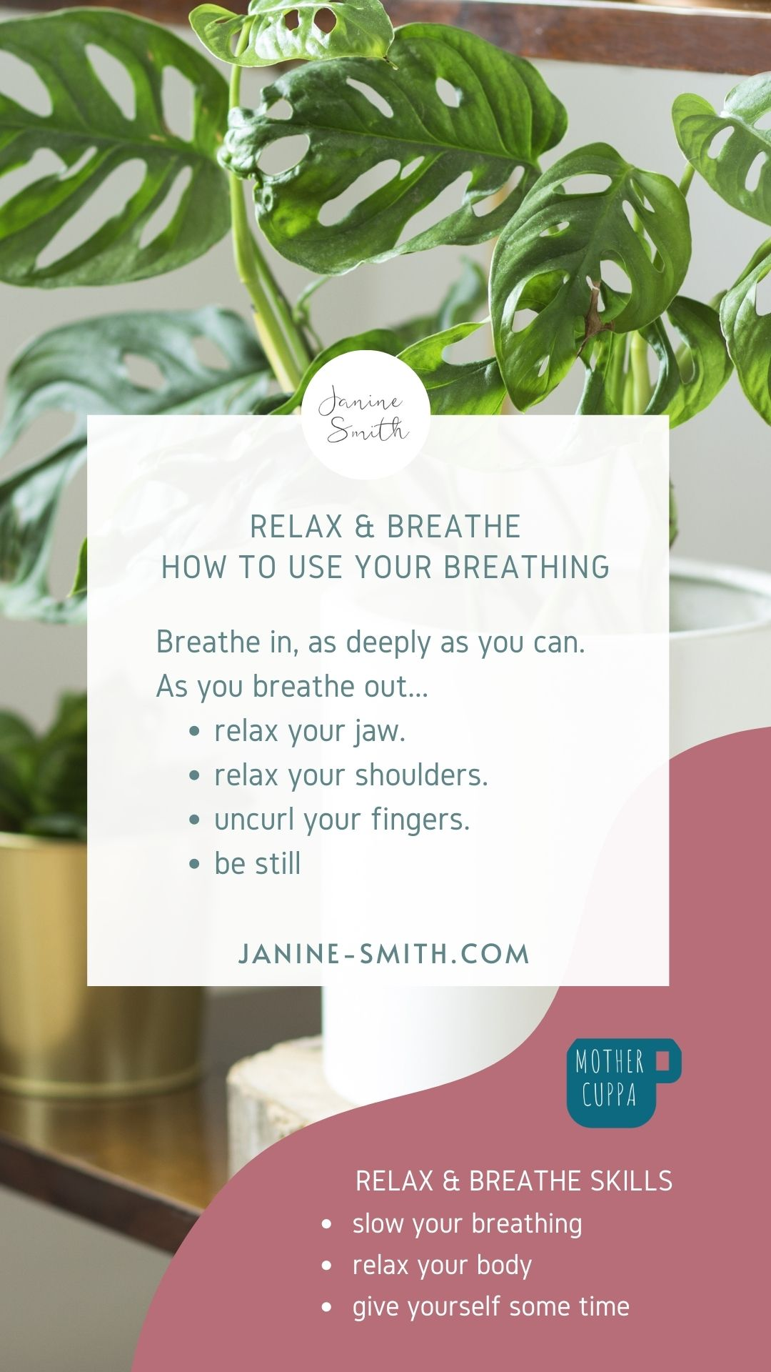 how to use your breathing
