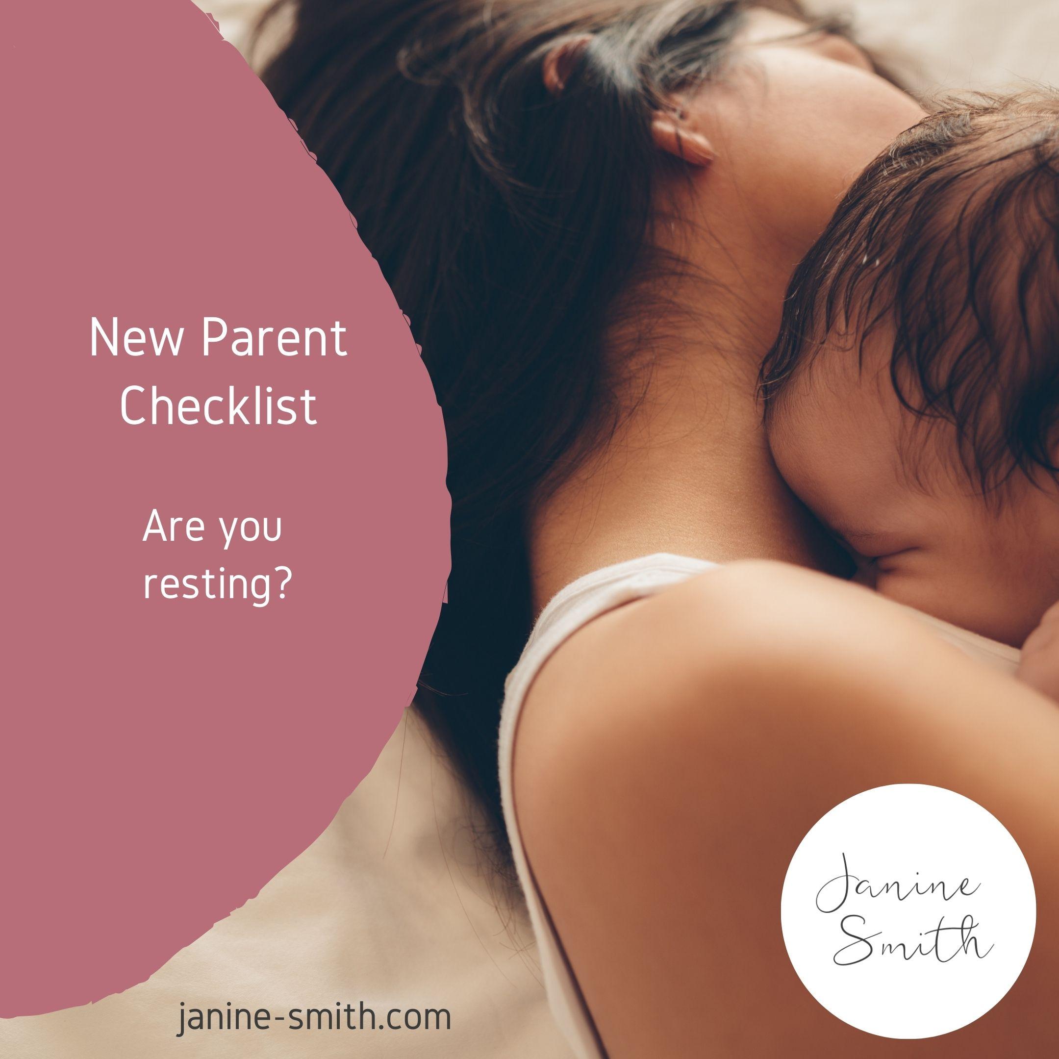 new parent rest